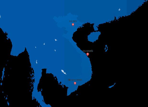 bản đồ hệ thống phân phối